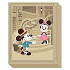 Mickey and Minnie Mouse ''Courting Minnie'' Giclee by Jerrod Maruyama - LE