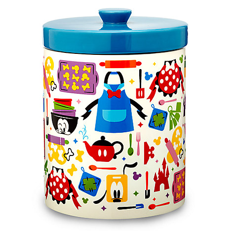 Mickey Mouse And Friends Colorful Kitchen Cookie Jar