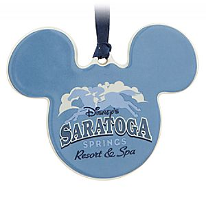 Mickey Mouse Icon Ornament – Disney's Saratoga Springs Resort & Spa