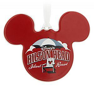 Mickey Mouse Icon Ornament – Disney's Hilton Head Island Resort