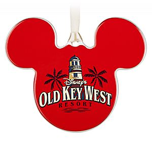 Mickey Mouse Icon Ornament – Disney's Old Key West Resort