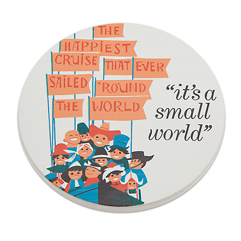 ''it's a small world'' Coaster