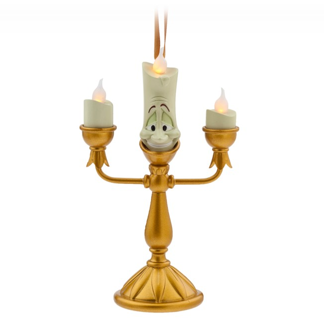 Lumiere Light-Up Figural Ornament – Beauty and the Beast