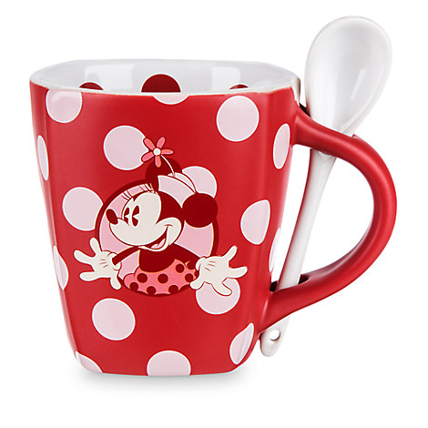 Minnie Mouse Mug and Spoon Set