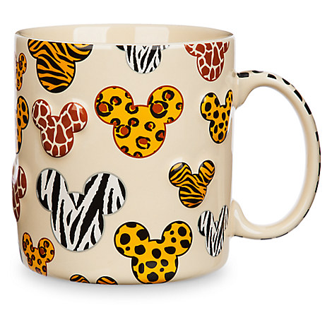 Mickey Mouse Animal Print Mug