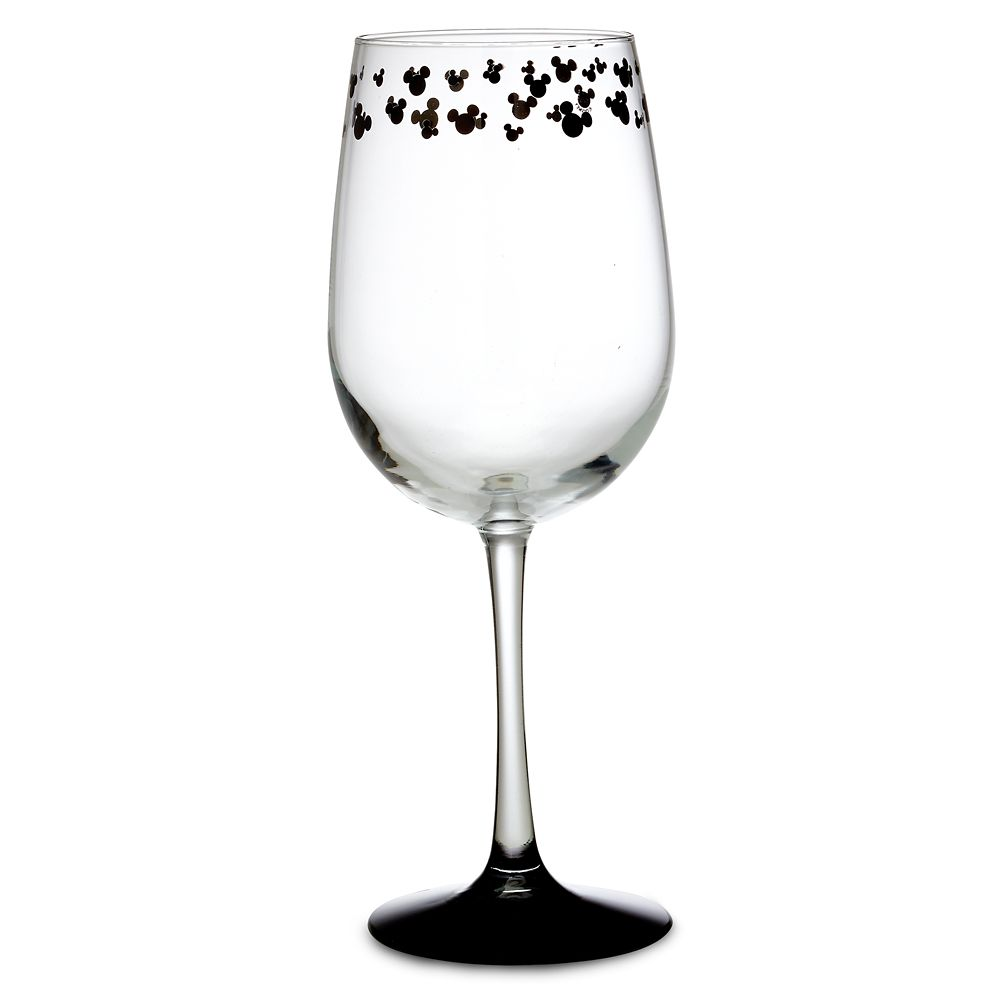 Mickey Mouse Icon Stemmed Glass – White Wine