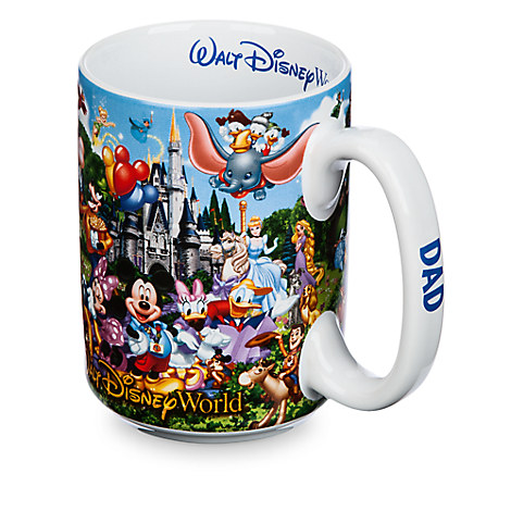 Walt Disney World Storybook Mug for Dad