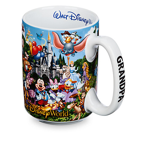 Walt Disney World Storybook Mug for Grandpa