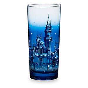 Sleeping Beauty Castle Glass - Disneyland Diamond Celebration