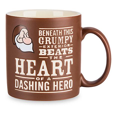 Grumpy Text Mug