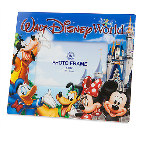 mickey mouse and friends photo frame walt disney world 4 x 6