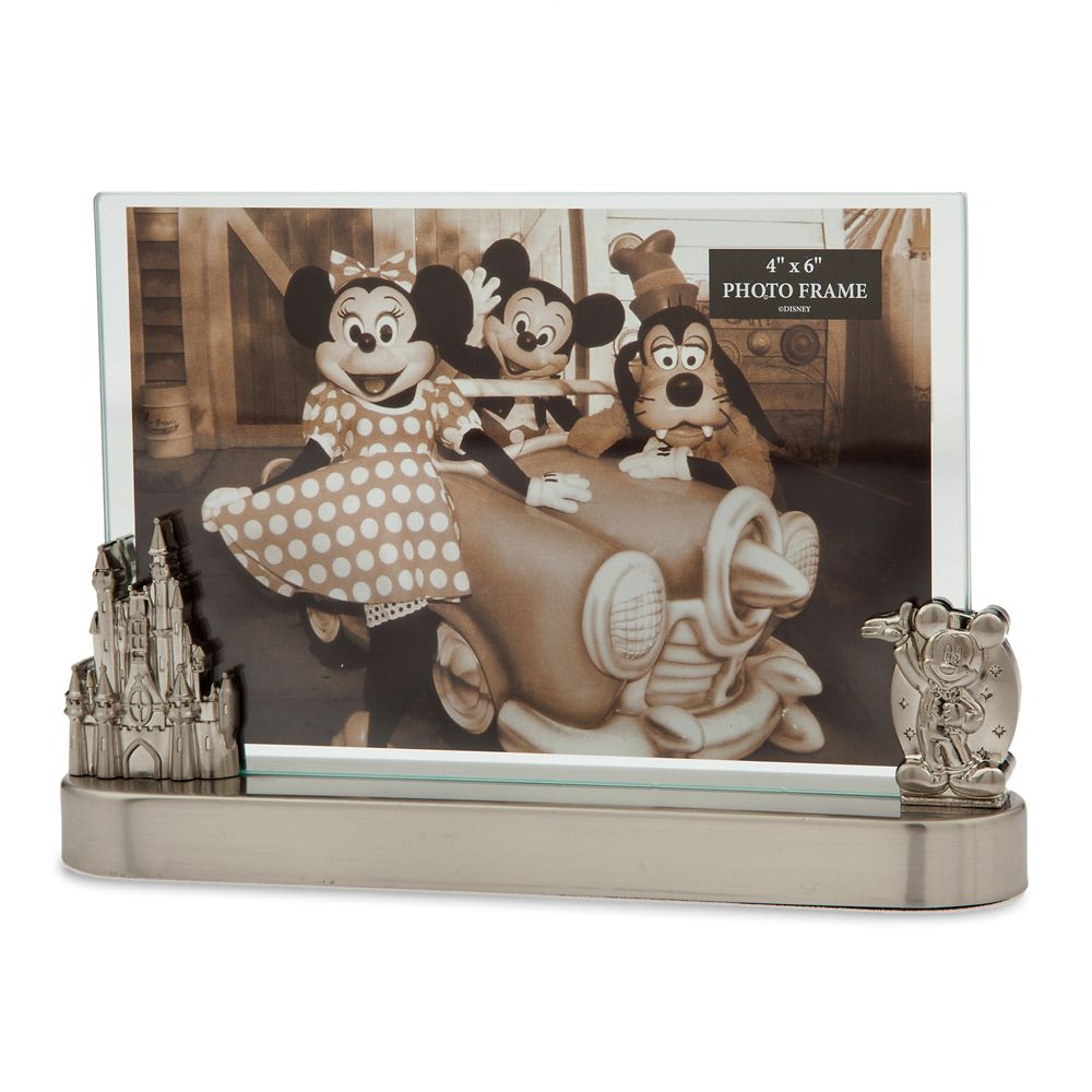 Mickey Mouse and Fantasyland Castle Contemporary Photo Frame – 4'' x 6''