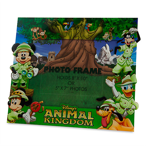 Mickey Mouse and Friends Photo Frame - Disney's Animal Kingdom - 8'' x 10'' or 5'' x 7''