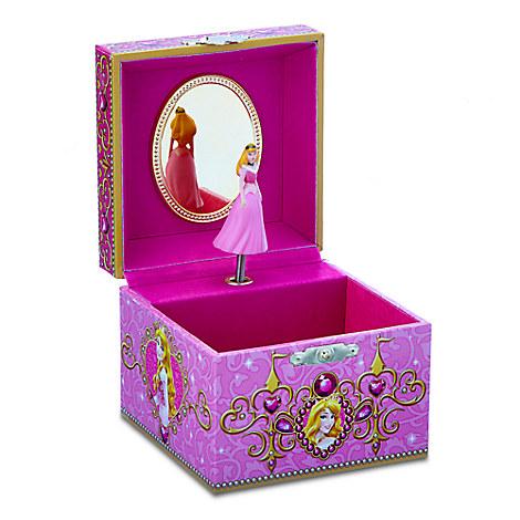 Aurora Musical Jewelry Box