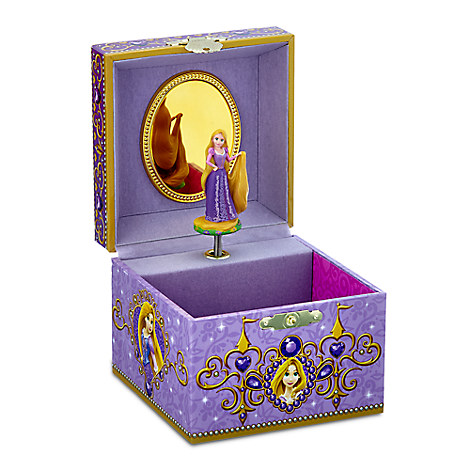 rapunzel musical jewelry box disney store