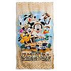 Disney's Animal Kingdom Beach Towel