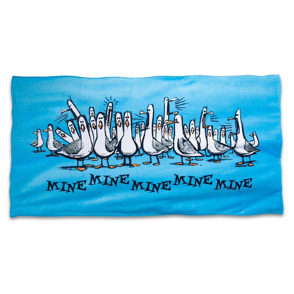 Finding Nemo Seagulls Beach Towel – ''Mine, Mine, Mine, Mine''