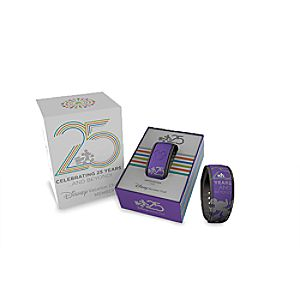 Disney Vacation Club 25th Anniversary Disney Parks MagicBand - Purple - Limited Edition