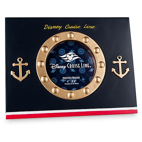 Disney Cruise Line Porthole Photo Frame - 4'' x 4''