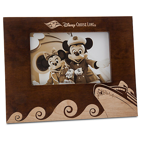 Disney Cruise Line Wood Photo Frame - 4'' x 6''