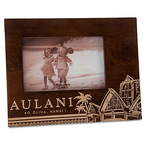 Aulani, A Disney Resort & Spa Wood Photo Frame - 4'' x 6''