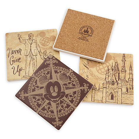 Walt Disney World Vintage Collection Coaster Set