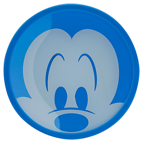Mickey Mouse Colorful Kitchen Glass Plate