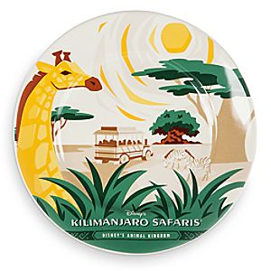 Disney Parks Attraction Art Plate - Kilimanjaro Safaris - 7