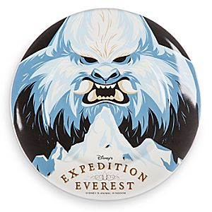 Disney Parks Attraction Art Plate - Expedition Everest - 7