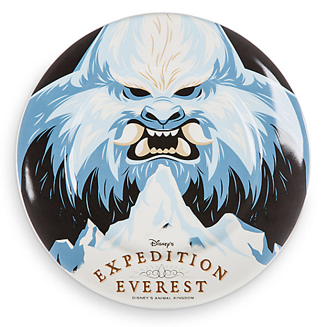 Disney Parks Attraction Art Plate - Expedition Everest - 7''