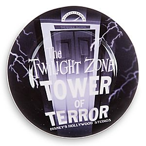 Disney Parks Attraction Art Plate - The Twilight Zone: Tower of Terror - 7