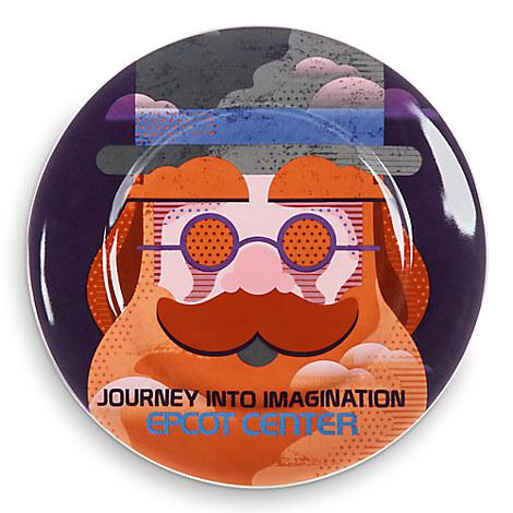 Disney Parks Attraction Art Plate - Journey Into Imagination - 7''