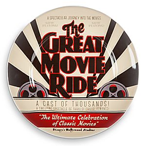 Disney Parks Attraction Art Plate - The Great Movie Ride - 7