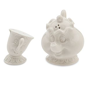 Mrs. Potts and Chip Salt and Pepper Shaker Set