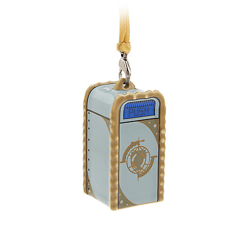 Tomorrowland Trash Can Ornament