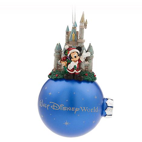 Santa Mickey Mouse Ornament - Walt Disney World