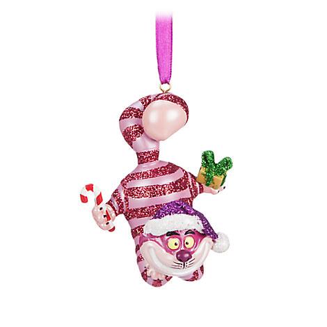 Cheshire Cat Figural Ornament