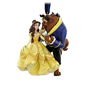 Beauty and the Beast Figural Ornament