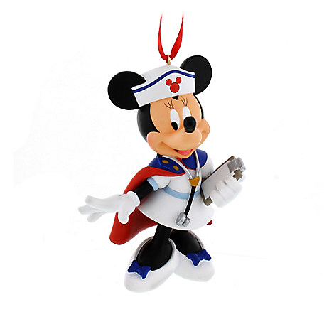 Minnie Mouse Nurse Ornament