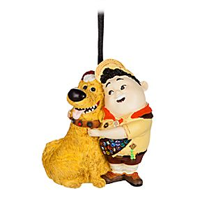Russell and Dug Figural Ornament - Up