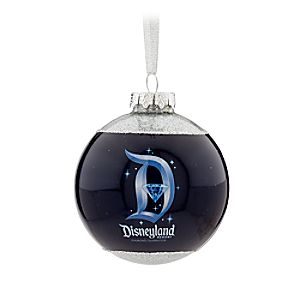 Sleeping Beauty Castle Ball Ornament - Disneyland Diamond Celebration