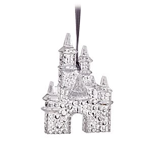 Sleeping Beauty Castle Sculptured Ornament - Disneyland Diamond Celebration