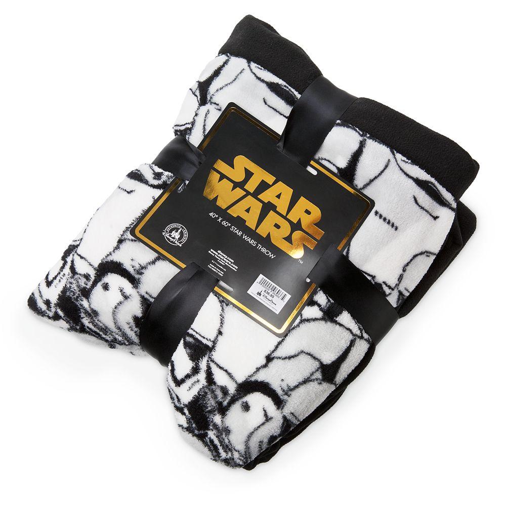 Stormtrooper Plush Throw – Star Wars