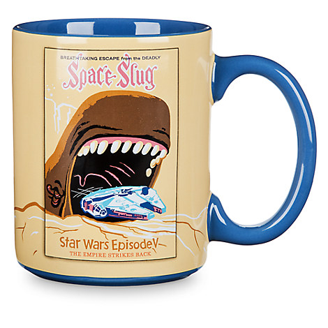 Star Wars Parks Attraction Poster Mug - Millennium Falcon