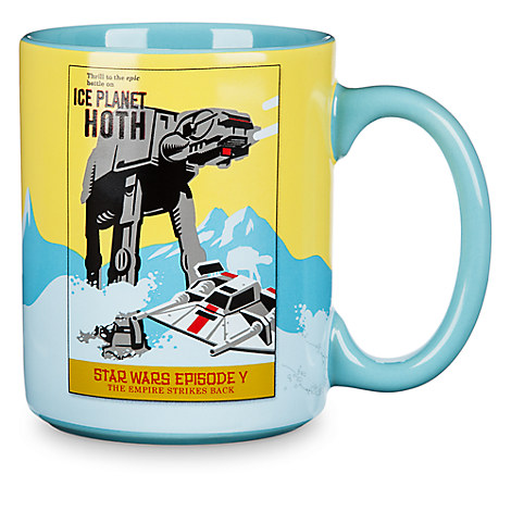 Star Wars Parks Attraction Poster Mug - Hoth