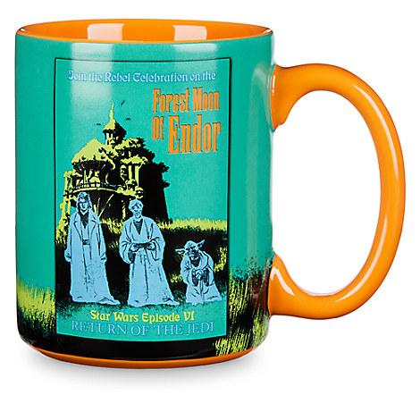 Star Wars Parks Attraction Poster Mug - Endor