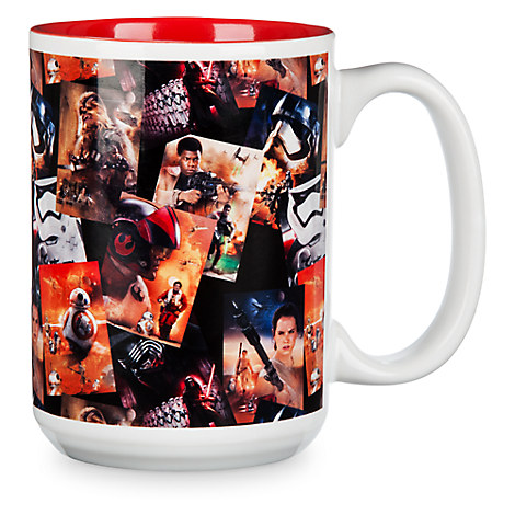 Star Wars: The Force Awakens Collage Mug
