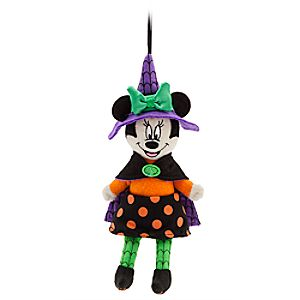 Minnie Mouse Halloween Plush Ornament