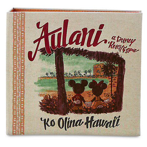 Mickey and Minnie Mouse Canvas Photo Album - Aulani, A Disney Resort & Spa