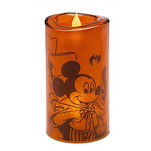 Mickey Mouse and Friends Light-Up Halloween Candle